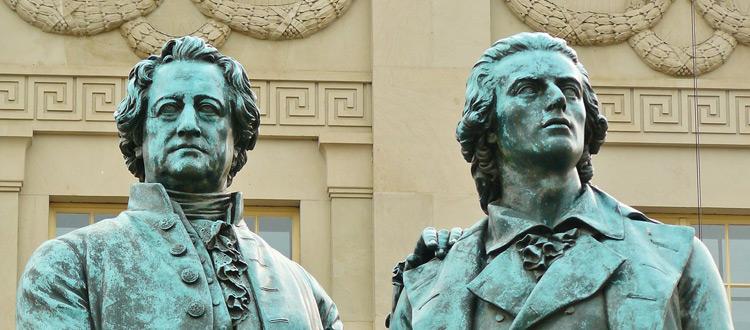 8 schöne Zitate von Goethe
